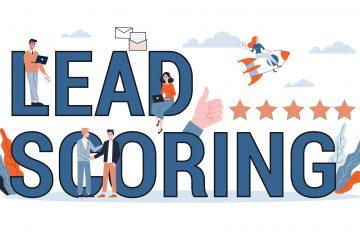 Lead scoring banner